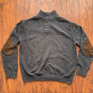 Chaps Men's Knitted Sweater Large